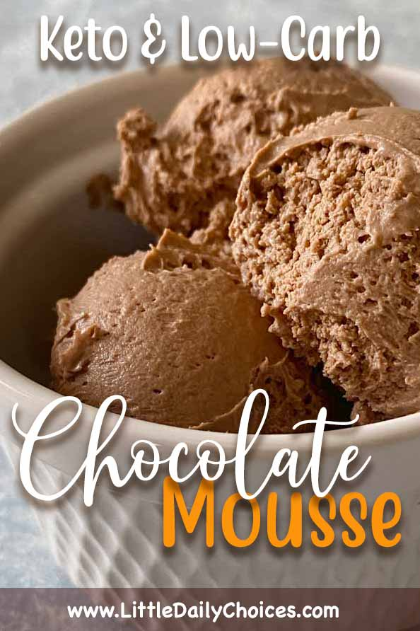 Chocolate Mousse for Pinterest