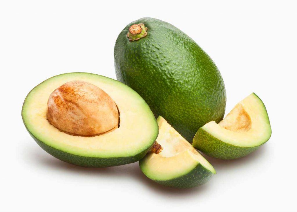 Avocado open and closed