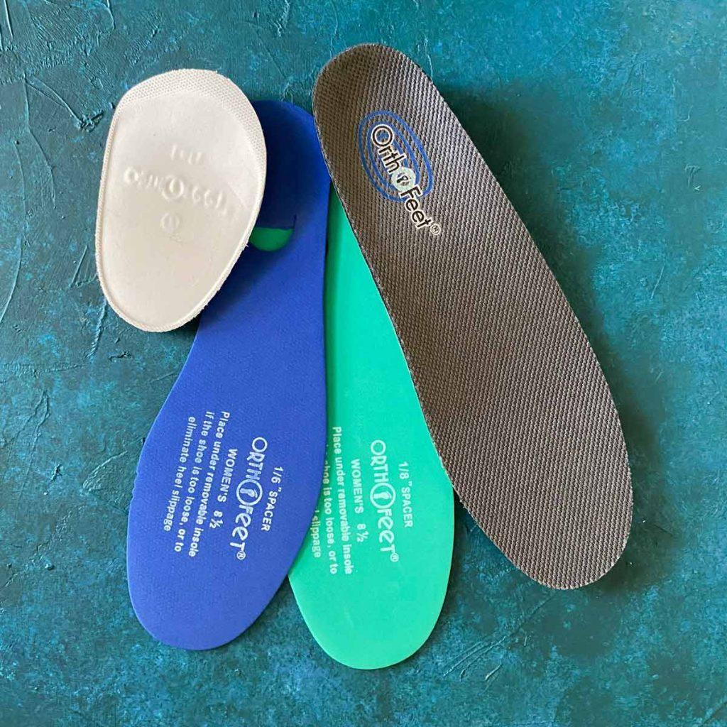 Orthofeet shoe inserts