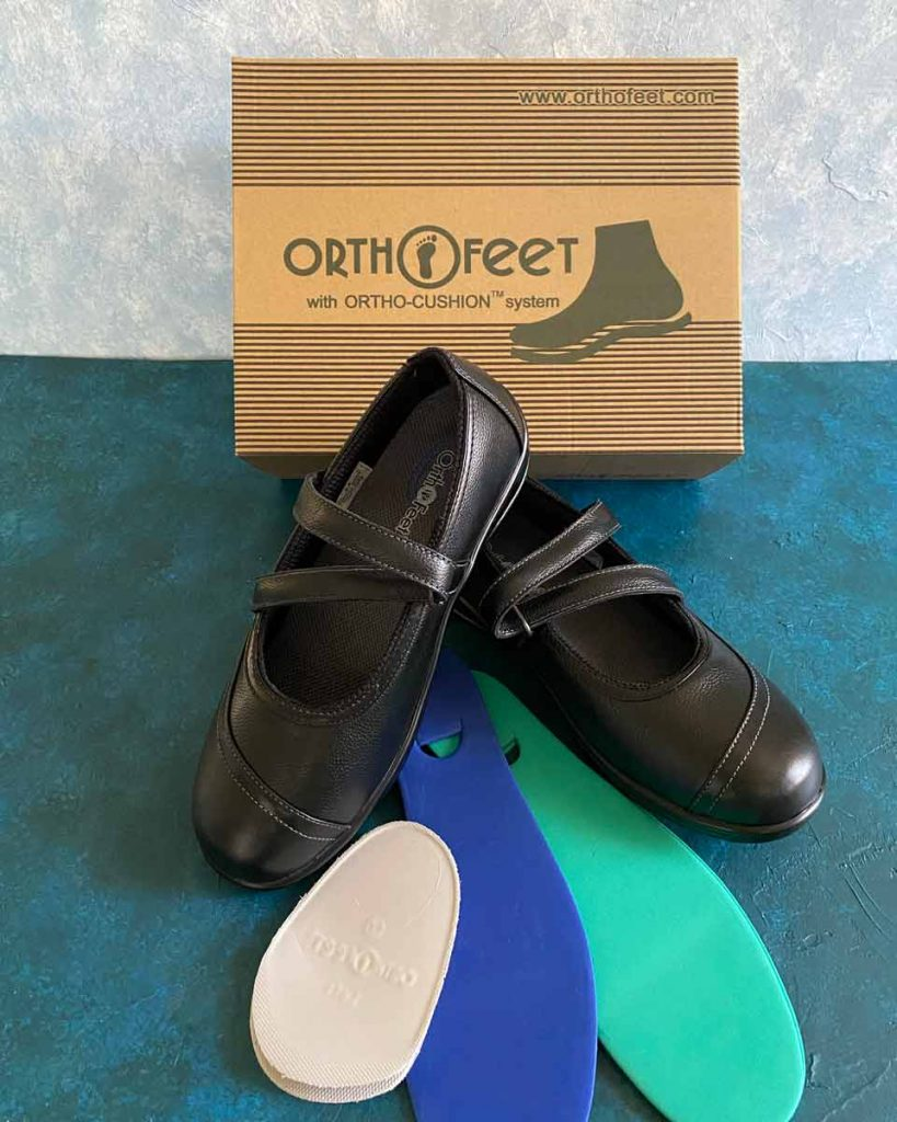 Orthofeet box unpacked