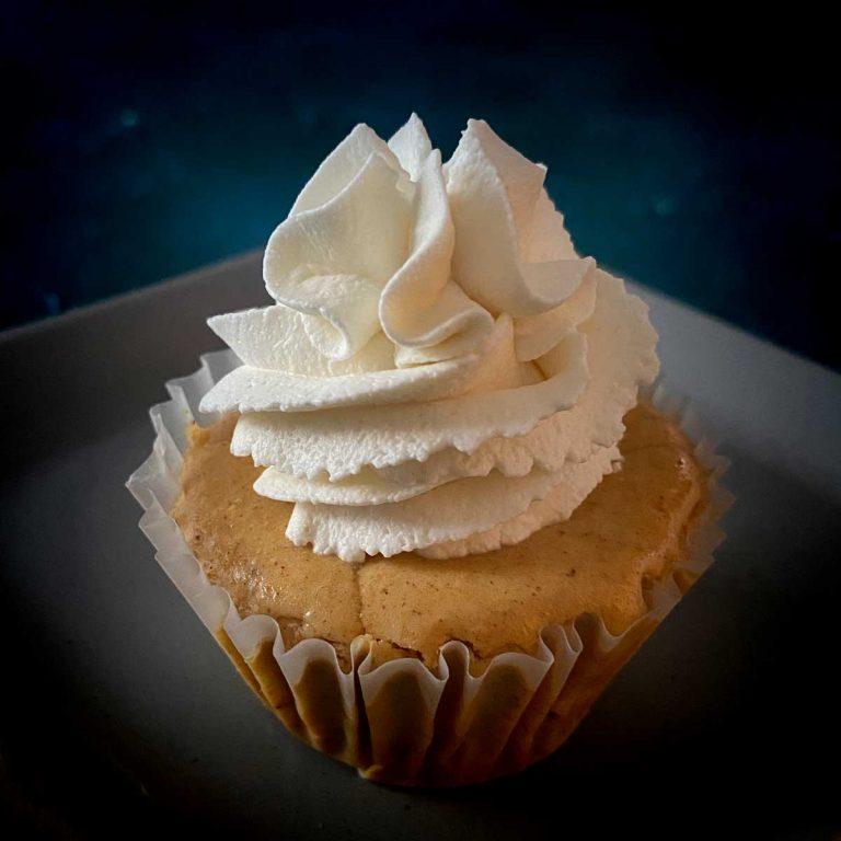 Mini Keto Pumpkin Cheesecake