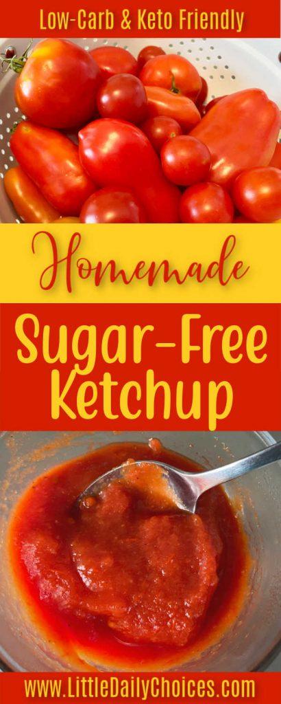 pin for sugar free ketchup